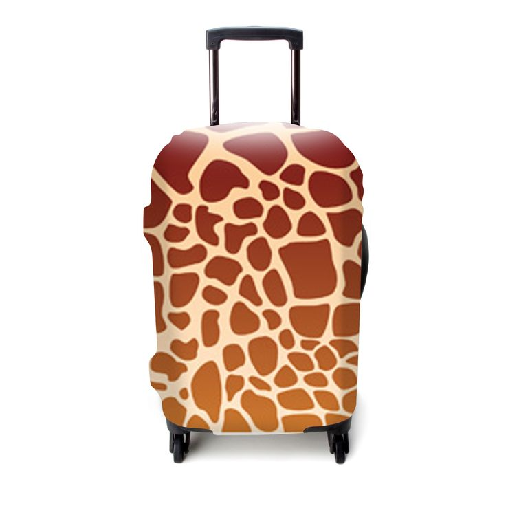 Everyone loves animal print! Get your luggage cover on Amazon.com today.