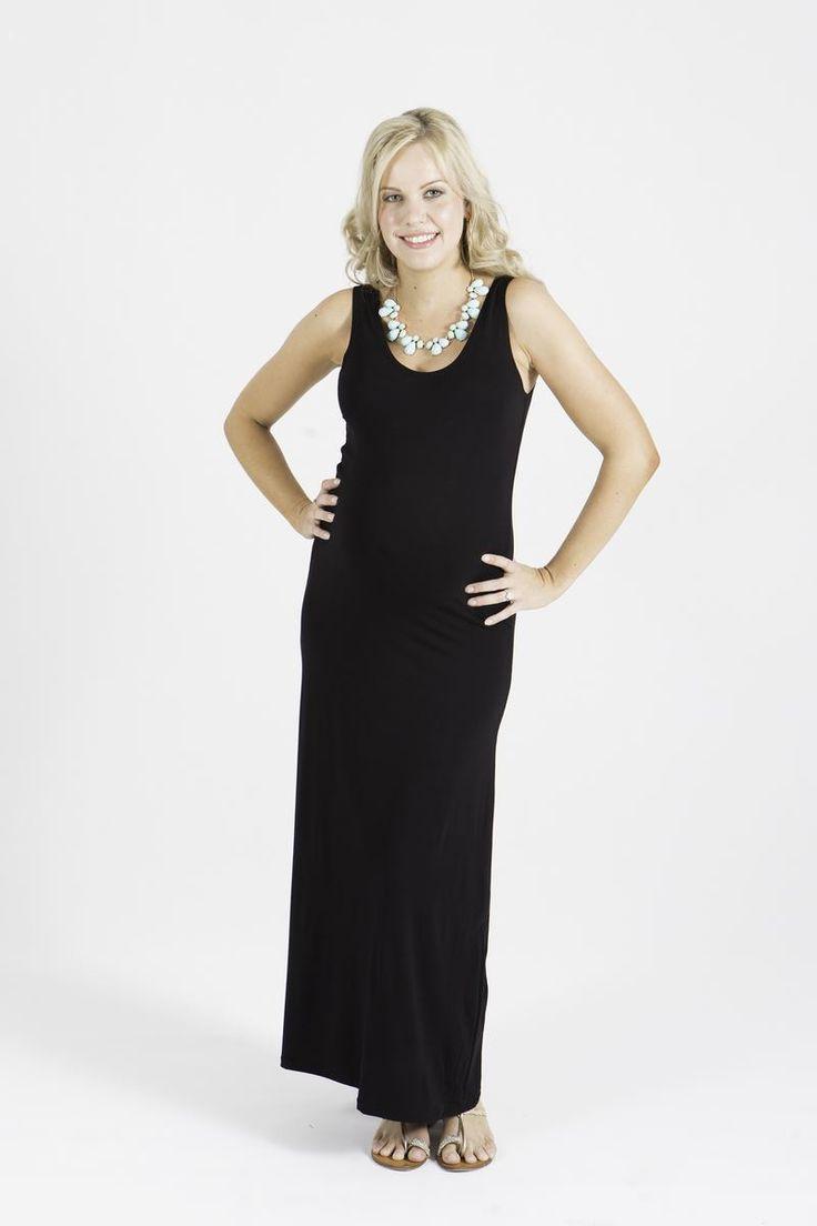 Maddison Black Tank Dress