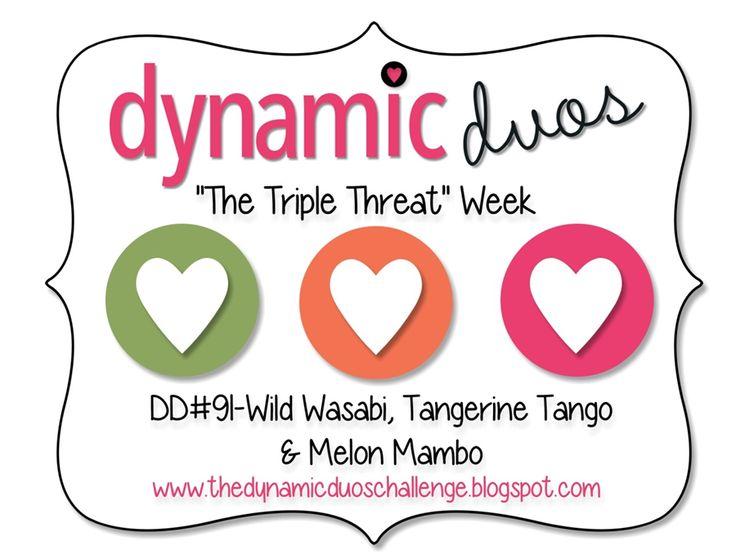 Dynamic Duos #91 {Triple Threat Week!}