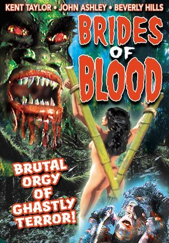 Brides of Blood DVD (1968) Starring Kent Taylor & John Ashley; Directed by Eddie Romero; Starring Beverly Hills; Directed by Gerardo De Leon; Alpha Video | OLDIES.com