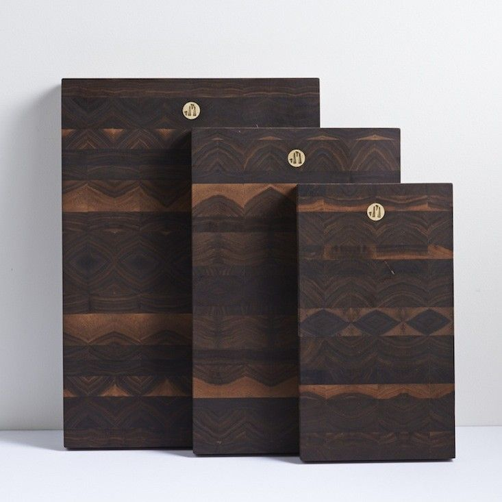 Jacob May Cutting Boards | Remodelista forget the cheese, I could eat these. gorgeous!