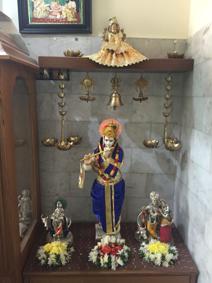 142 Best Puja Room Hindu Altars Images On Pinterest Altars Altar And House Decorations