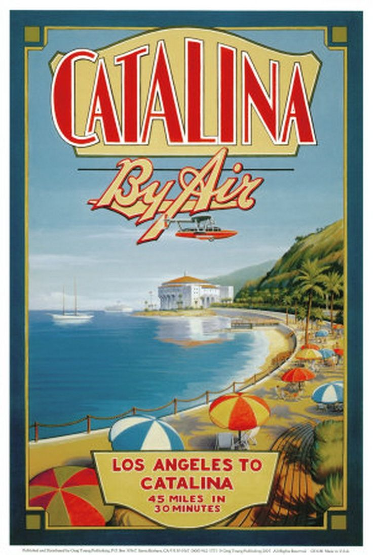 Best California Travel Posters And Art Prints Images On Pinterest - Los angeles posters vintage