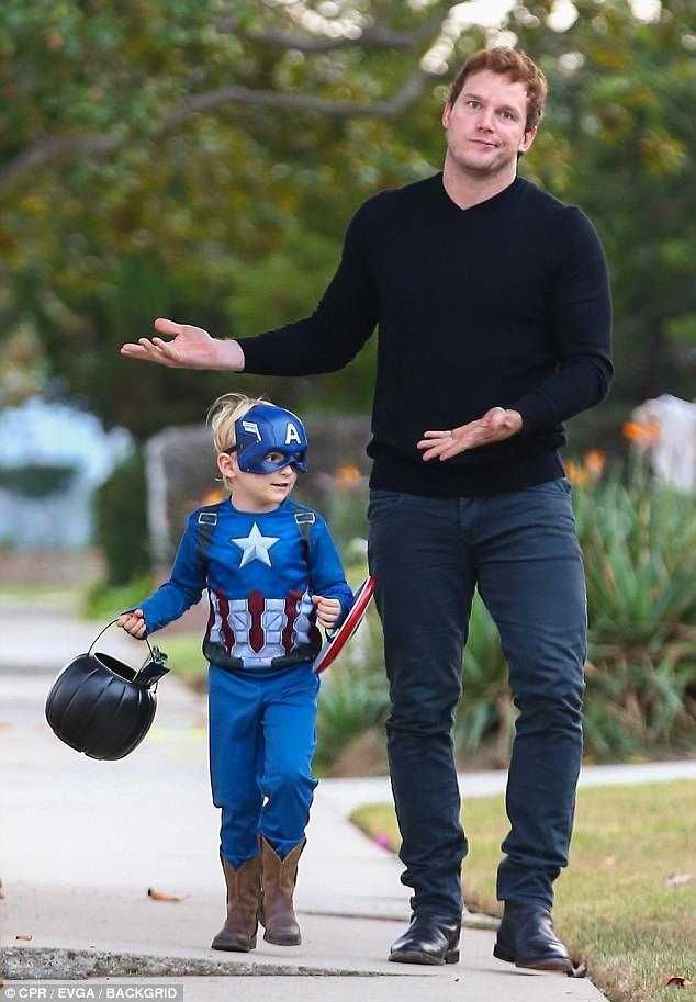 When you are Star Lord but your son wants to be Captain America. -Imgur Post - Imgur