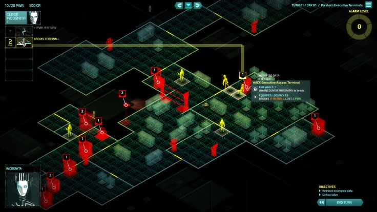 Features of Invisible Inc Build 20150514 Windows Game