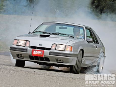 1986 Ford Mustang Svo Burning Rubber...actually Nathan wants this one