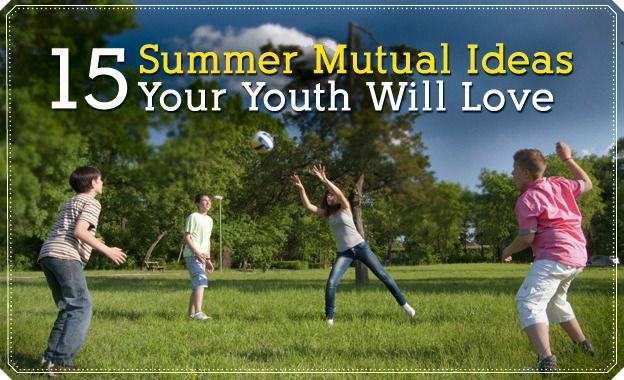Fun summer activities for youth