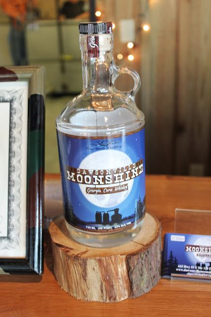 Dawsonville Moonshine Distillery an hour outside of Atlanta is the state's first legal moonshine operation.