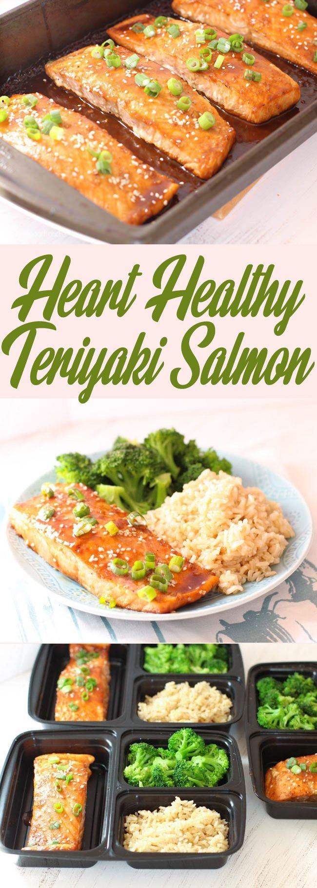 Heart Healthy Teriyaki Salmon
