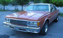 Chevrolet Caprice - Wikipedia, the free encyclopedia