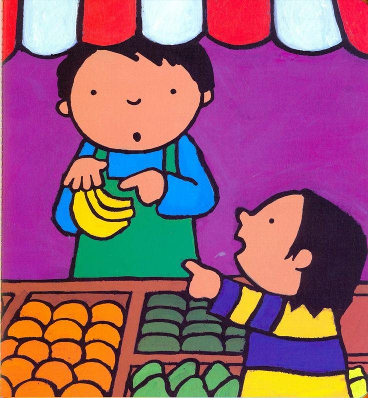 Anna eet graag fruit - prent 5
