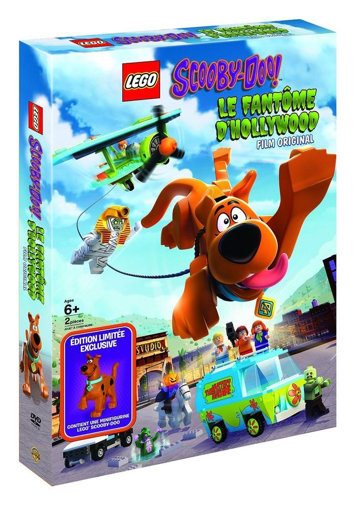 dtails sur lego scooby doo le fantme dhollywood film original 2016 dvd dition