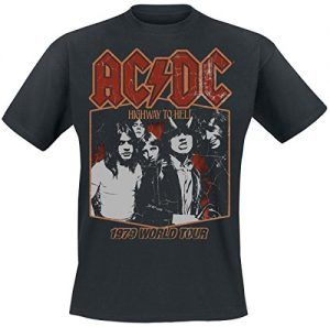 AC/DC Highway To Hell Tour '79 T-Shirt schwarz M