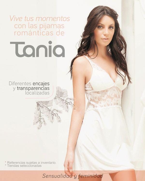 Vive tus momentos con las pijamas románticas de Tania