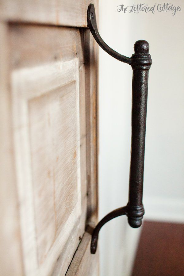 Library or Barn Door Handle | Parish Shoppe in Montgomery Alabama