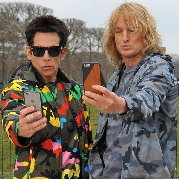 Pin for Later: The Zoolander Antics Didn't Stop For Ben Stiller and Owen Wilson