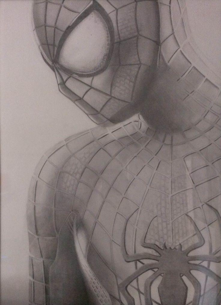 фото человека паука чтобы нарисовать