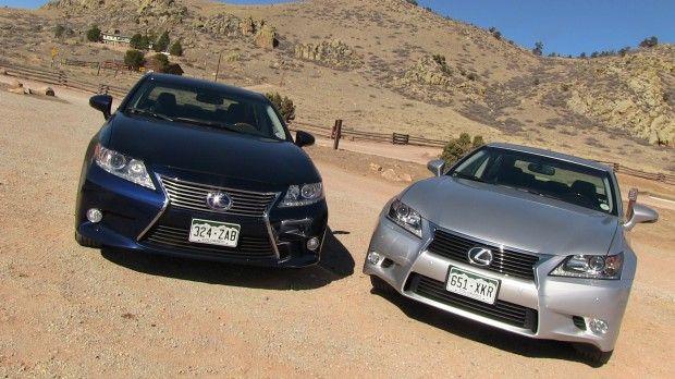 #2013 #Lexus #ES vs #GS 0-60 MPH #Mashup #Review: What's the #best new #Lexus #sedan? Is it the ES #hybrid or rear driven GS?  by #tflcar