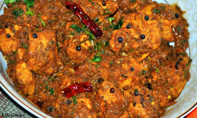 Dhaba Chicken - A must try Indian Chicken dish