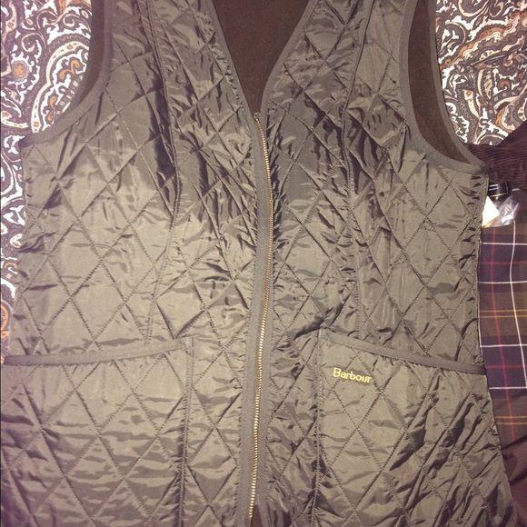 Green Barbour vest Brand new Barbour vest, green size 12 US size Barbour Jackets & Coats Vests