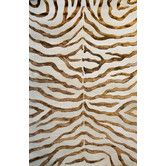 Found it at Wayfair - Earth Soft Zebra Brown Rug