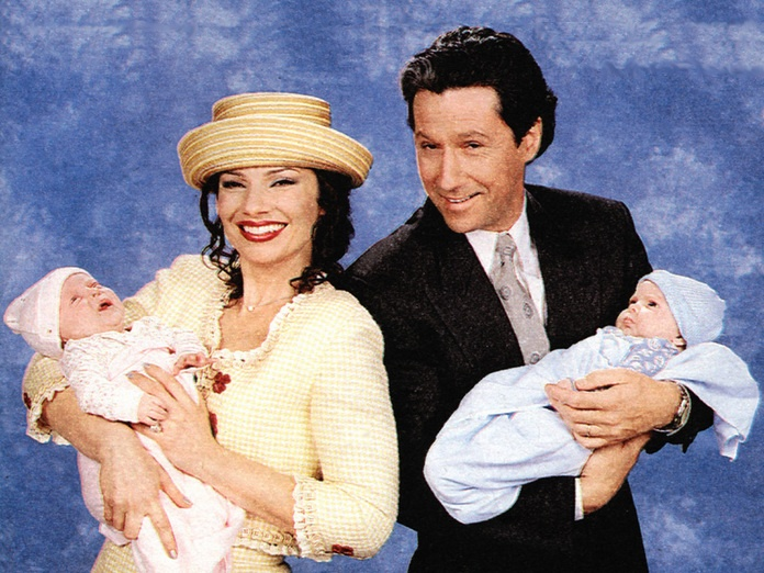 Charles Shaughnessy and Fran Drescher from The Nanny TV ...
