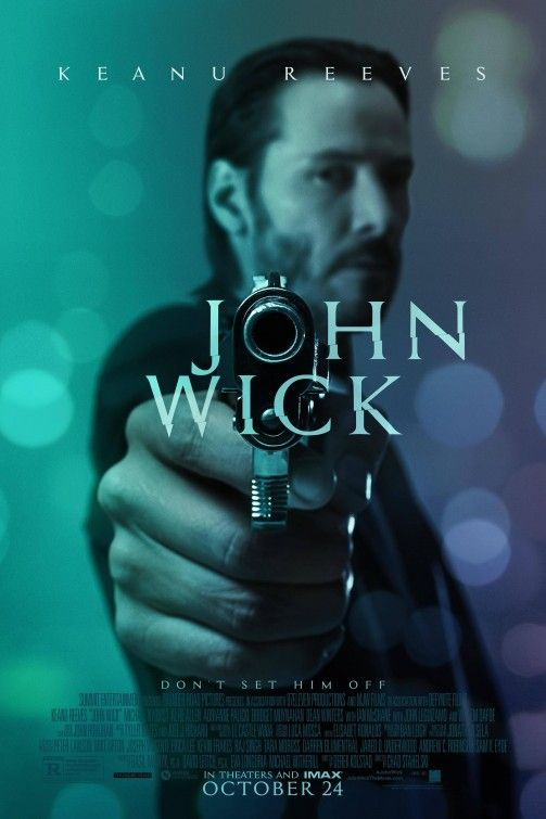 John Wick is a 2014 American action thriller film directed by Chad Stahelski and David Leitch. Starring Keanu Reeves, Michael Nyqvist, Alfie Allen, Adrianne Palicki, Bridget Moynahan, Dean Winters, Ian McShane, John Leguizamo, and Willem Dafoe, the film stars Reeves as John Wick, a retired hitman seeking vengeance for the killing of his puppy, a gift from his recently deceased wife. http://en.wikipedia.org/wiki/John_Wick_(film)