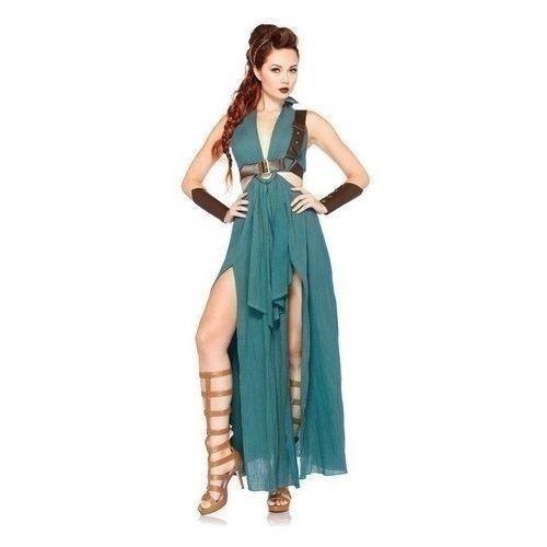 Khaleesi Hallowen Dress Daenerys Targaryen Costume Warrior Game Of Thrones Sexy  #KhaleesiHalloweenDress #Dress #HalloweenCosplay