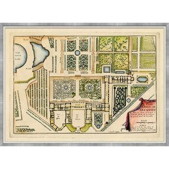 18th Century French Garden Plans