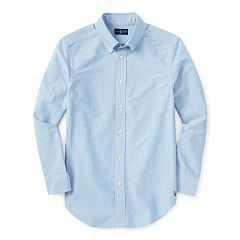Cotton Blake Uniform Shirt - Boys 8-20 Sport Shirts - RalphLauren.com