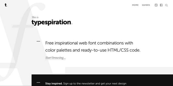 Typespiration.com est un site bien pratique que vous allez j'en suis sûr ajouter dans vos favoris. Il va vous permettre un quelques clics de découvrir de belles combinaisons de typographies ainsi que des palettes de couleurs originales. Ensuite toujours en quelques clics, vous pouvez récupérer le code Html et CSS afin de mettre en place […]