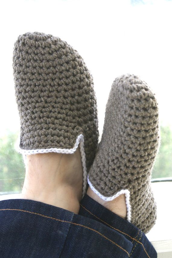 Black Friday Sale Her Crochet Slippers by WhiteNoiseMaker on Etsy