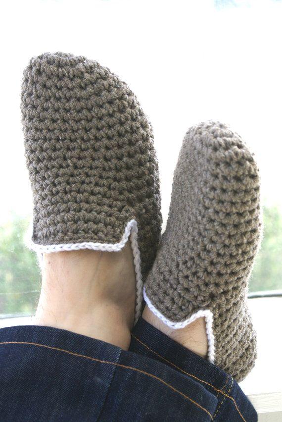 Black Friday Sale Her Crochet Slippers by WhiteNoiseMaker on Etsy