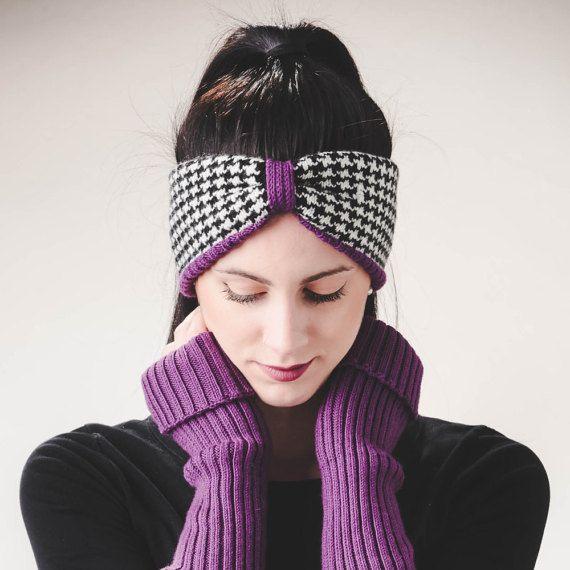 Womens Turban, Womens clothing gift, Knitted Headband, Knitted Earwarmer, Knit Turban, merino Wool headband, Wool Turban, Knitted Headwrap.