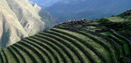 Pisaq citadel, Peru.