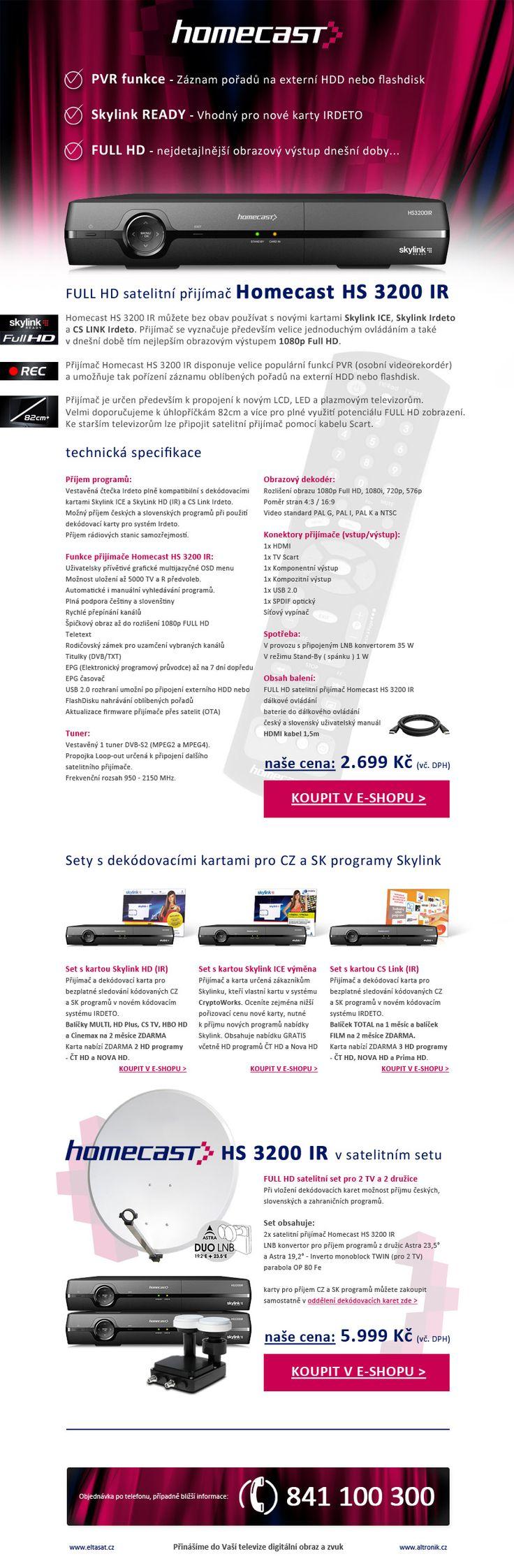 Homecast HS 3200