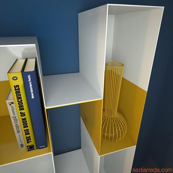 Spread M design bookcase @memedesign2012