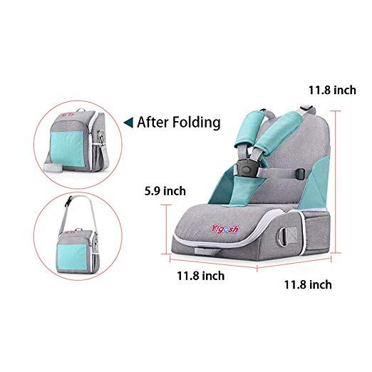 f032001425b3 Travel Booster Seat for Family and Toddler Dining, Multi-Function ...