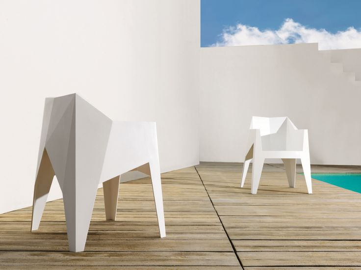 Vondom Garten Stapel Stuhl Voxel Kaufen Im Borono Online Shop