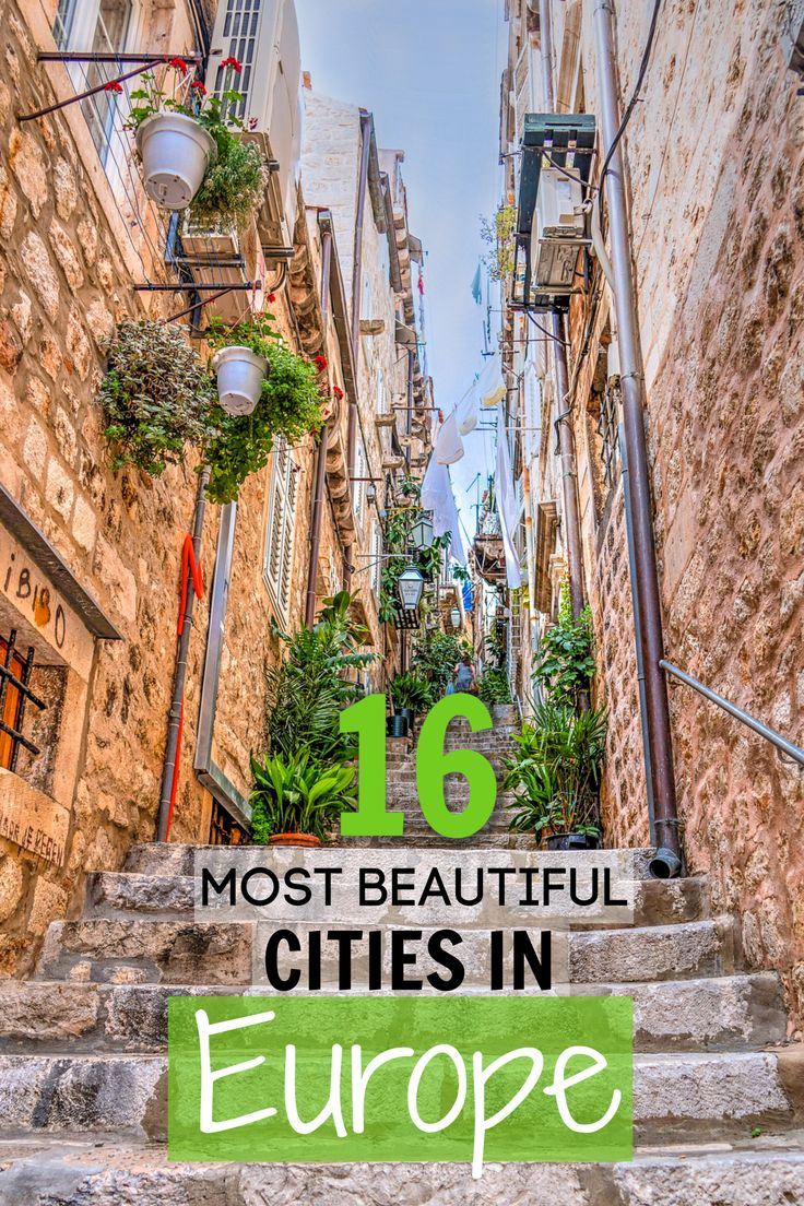 16 most beautiful cities in Europe