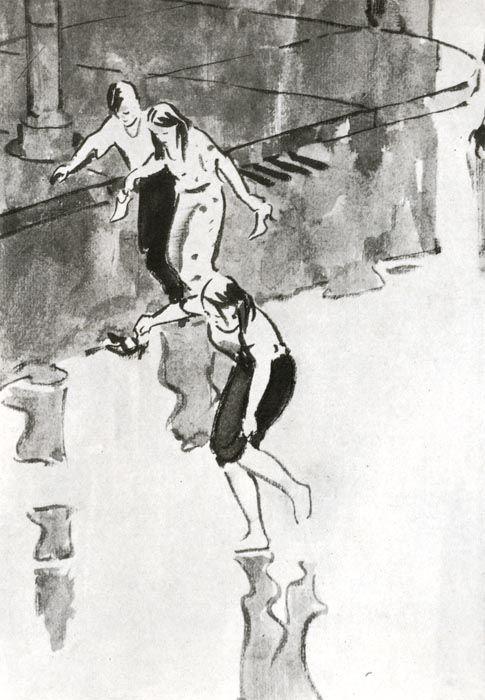 Леонид Владимирович Сойфертис (1911-1996гг). - Музей рисунка