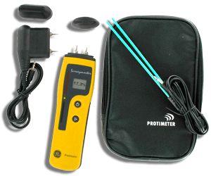 http://www.termometer.se/Protimeter-Surveymaster.-Kombinstrument-Fukt-fuktkvot.html  Protimeter Surveymaster. Kombinstrument, Fukt/fuktkvot  Surveymaster kan mäta både djupt liggande fuktskador och ytliga dito. Med indikeringsläget når man ca 15 mm ner i exempelvis golv, vilket kan vara avgörande för om man behöver gå vidare och mäta på djupet...