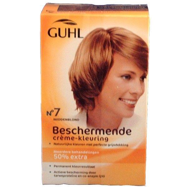GUHL Beschermende creme-kleuring Nr. 7 Middenblond 4072600214701 vlv