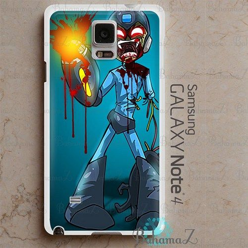 Mega Man Zombie Samsung Galaxy Note 4 Case