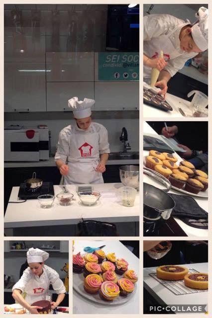 Per San Valentino la nostra Clarissa ha presentato e realizzato diverse ricette: deliziosi muffin, preparati con farina di polenta, ripieni con marmellata di limone e glassa; squisiti cupcake gusto cacao e gusto cocco, con frosting di panna montata o ghiaccia reale; originale torta all'arancia con ripieno a cuore di cioccolato.  #villamontesiro #fratelli_villamontesiro #villa_casalinghi #ul_piatè_de_munt #Clarissa_in_cucina #minicorso #ricette