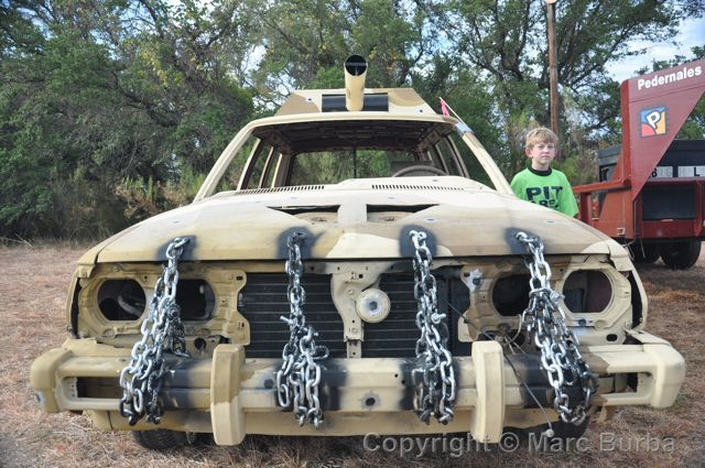 Compact Demolition Derby Car Designs | Find the menu for Opie's BBQ in Spicewood here.