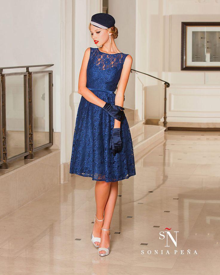 Vestidos de Fiesta, Vestidos de madrina, Vestidos para boda, Vestidos de Coctel 2016. Colección Primavera Verano Completa 2016. Sonia Peña - Ref. 1160071