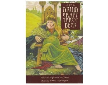 The Druid Craft Tarot Deck - This card deck emerges using the teachings of the Druids to illustrate the great story telling from our ancient past.  This allows us to use this beautiful tarot deck to tap in to a deeper knowledge and find inspiration in modern life.     This deck combines two great streams of Western Pagan tradition - Wicca and Druidry.  Beautifully illustrated