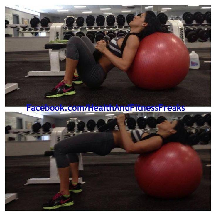 Stability Ball Glute: 25+ Best Ideas About Hip Thrust Workout On Pinterest