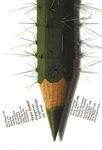 해외) 초록색 색연필을 보고 선인장을 떠 올린 아이디어가 마음에 든 디자인이다.